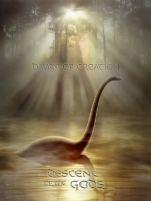 Descent of the Gods pleisosaur art